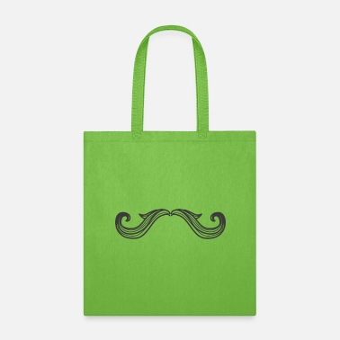 Mustache Mustache 3, mustached, - Tote Bag