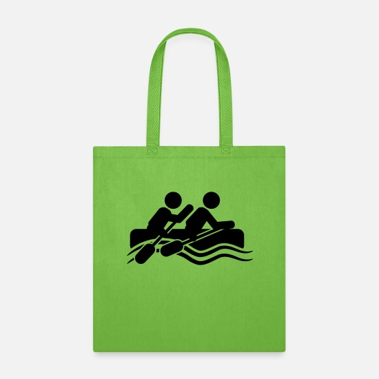 Play Bags & Backpacks - rafting - Tote Bag lime green