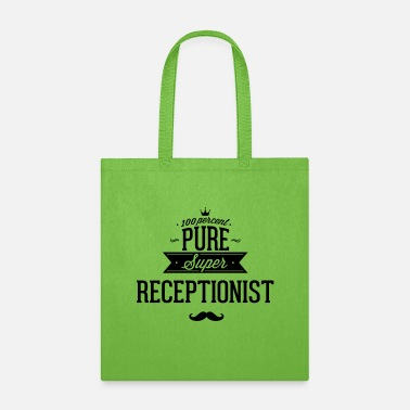 Pure 100 percent pure super receptionist - Tote Bag
