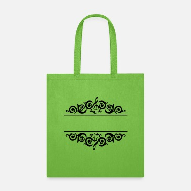 Chorale Music Frame - Tote Bag