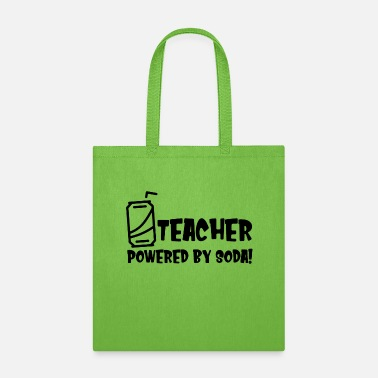 TEACHER POWERED BY SODA - Tote Bag