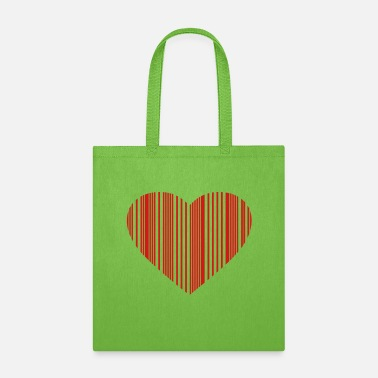 Phone barcode love - Tote Bag
