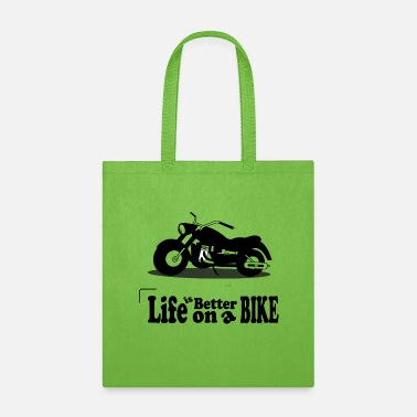 bike tee - Tote Bag