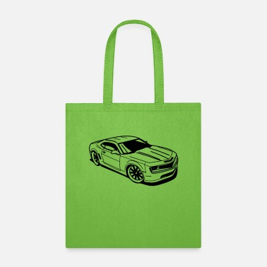 Vehicle Chevrolet Camaro - Tote Bag