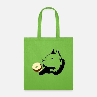 Chihuahua ټ♥Pit Bull Terrier Craving Choco Donuts♥ټ - Tote Bag