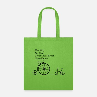 Bmx Grandfather GREAT GRANDFATHER OF BIKE - Tote Bag