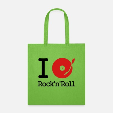 Club I dj / play / listen to rock & roll - Tote Bag