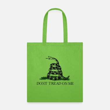 Don't Tread On Me (Gadsden Flag) - Tote Bag