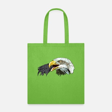 American Flags Eagle American,Bald Eagle,USA Eagle,Bird T-shirt - Tote Bag
