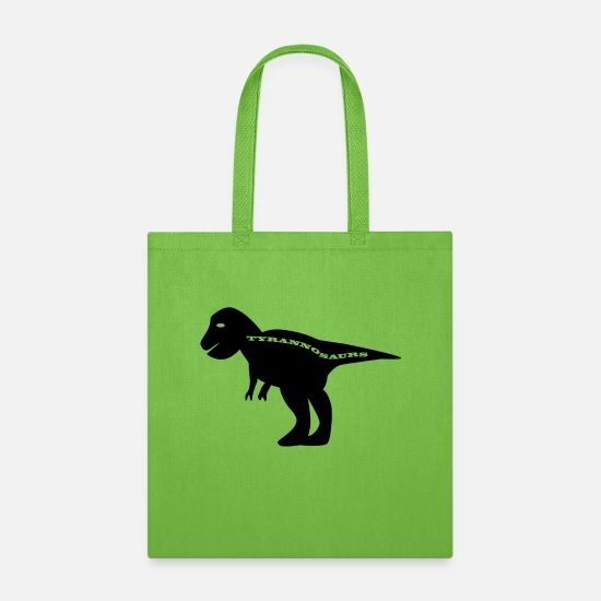 Primeval Times Bags & Backpacks - Dinosaur - Tote Bag lime green