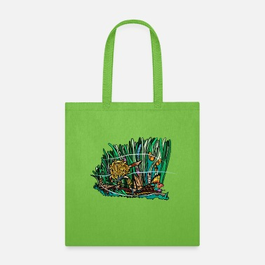 Junglecontest Snake Rider Start the War - Tote Bag