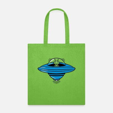Witty ufo witty - Tote Bag