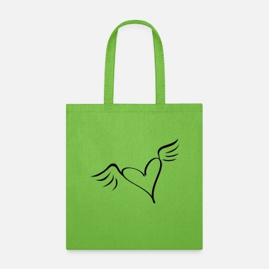 Serce wings - Tote Bag