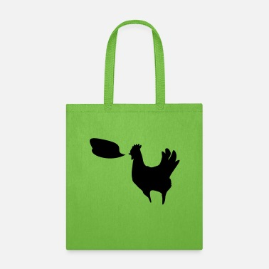 Chicken Talking Rooster - Tote Bag
