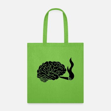 Thinking Weed smoking brain - Tote Bag