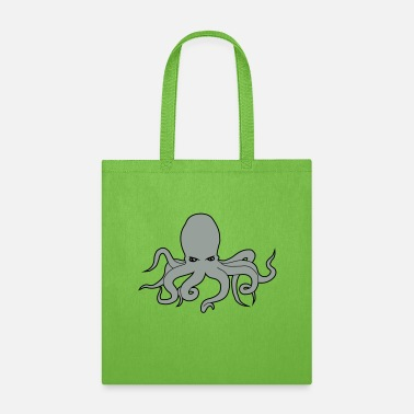 Octopus octopus squid - Tote Bag