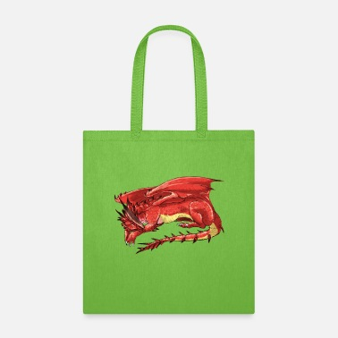 Red red dragon - Tote Bag