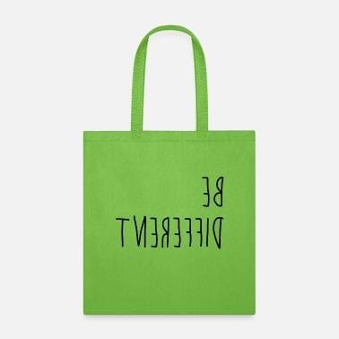 Different Be different - difference - Tote Bag