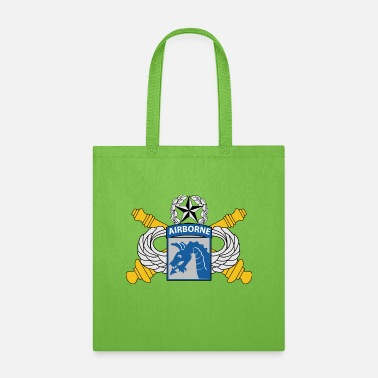 Artillery XVIII Airborne Corps Artillery Insignia - Tote Bag