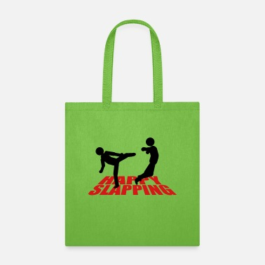 Text happy slapping - Tote Bag