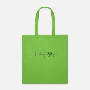 Luxury Heartbeat for luxury - Tote Bag