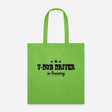 Drivers License vdub driver in training - Tote Bag