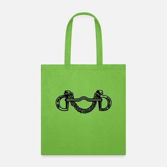 Horse Bags & Backpacks - Bit 1 - Tote Bag lime green