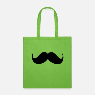 Cool-cute-stylish-mustaches ۞»♥Stylish Upswept Mustache-Vector Design♥«۞ - Tote Bag