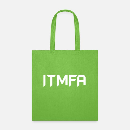Trump Bags & Backpacks - Anti Trump - Tote Bag lime green