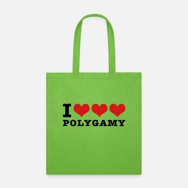 I love polygamy - Tote Bag