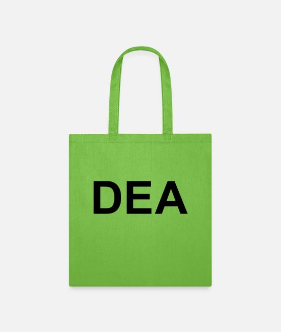 Drug Bags & Backpacks - DEA - Tote Bag lime green