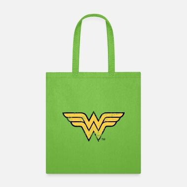 Justice League Wonder Woman Logo Vintage - Tote Bag