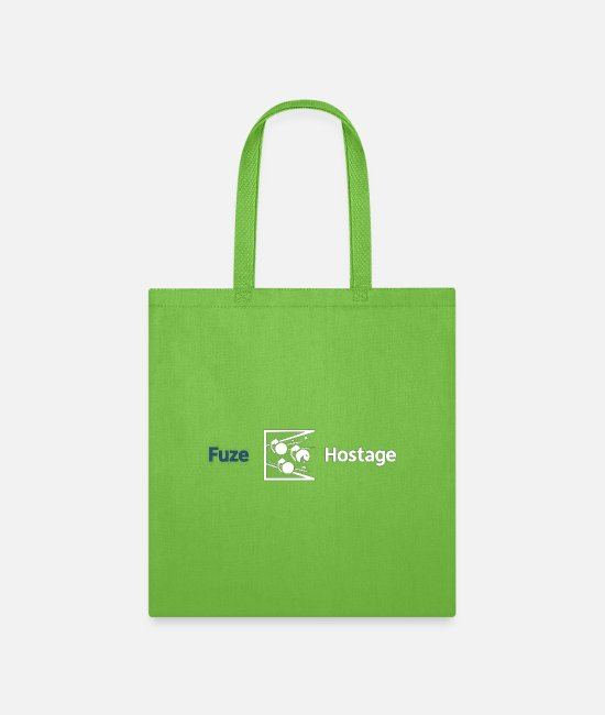 Video Game Bags & Backpacks - Fuze Hostage - Tote Bag lime green