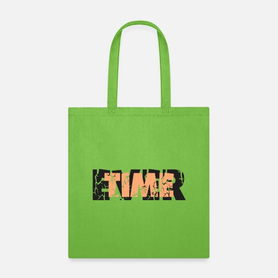 Time Travel Bags & Backpacks - Time Ever - Tote Bag lime green