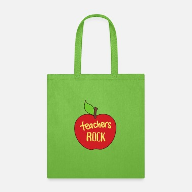 Teachers Rock! - Tote Bag