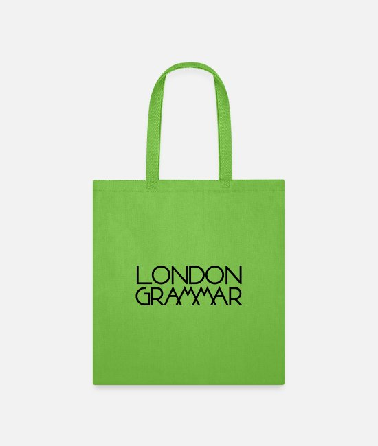 Pop Bags & Backpacks - London Grammar - Tote Bag lime green