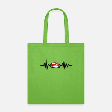 I Heart Beef Steak Heart Beef Fun Party Present - Tote Bag
