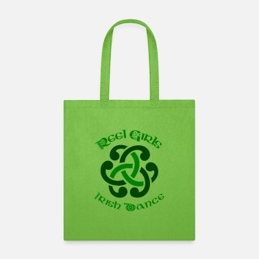 Dancing Reel Girls Irish Dance Shirt For Irish Dancers - Tote Bag