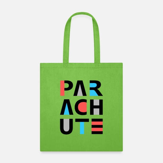 Birthday Bags & Backpacks - Parachute - Tote Bag lime green