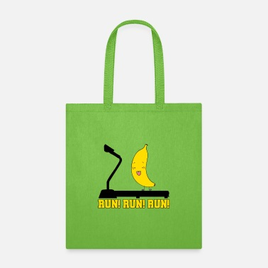 Running Run! Run! Run! - Tote Bag