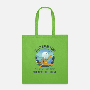 Angle Sloth Kayaking, Sloth Kayak Team - Tote Bag