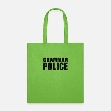 Police Officer Grammar Police, Comma Unit - Tote Bag