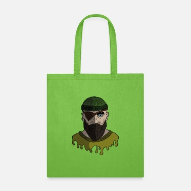 Eye Patch captain sailor shipping.png - Tote Bag