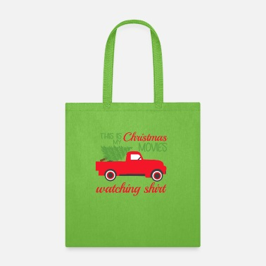 Hallmark Christmas Movies This Is My Hallmark Christmas Movie Watching Shirt - Tote Bag