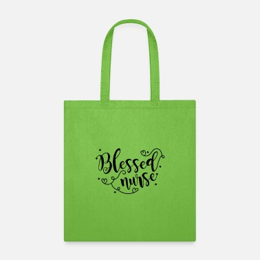 Future Blessed Nurse Giftsticker,university,biology,caree - Tote Bag