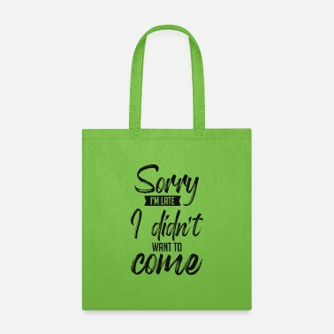 Small Funny Gift Quote Reusable Tote Bag For Grocery Sho - Tote Bag