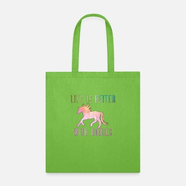 Foal life is better with horses - Tote Bag