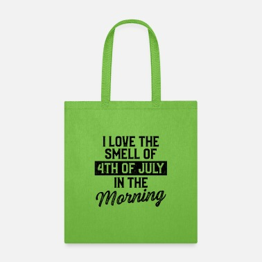 American 4th of July Morning American USA Flag July 4th - Tote Bag