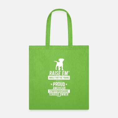 Stafford american stafford dog lovers - Tote Bag