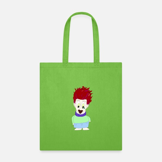 Manga Bags & Backpacks - Manga Anime Fan - Tote Bag lime green